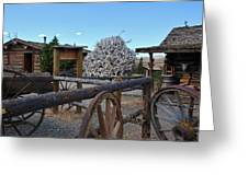 Old Trail Town -  Wyoming Greeting Card