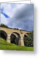 Old Train Viaduct In Poland Greeting Card
