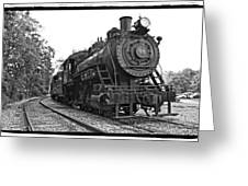 Old Trains Greeting Card