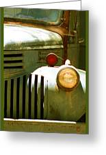 Old Truck Abstract Greeting Card