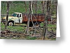 Old Truck At Rest Greeting Card