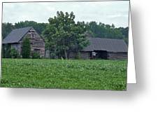 Old Virginia Barns Greeting Card