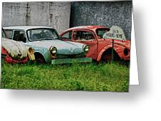 Old Volks Home Greeting Card