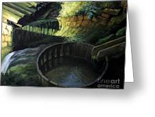 Old Watermill Greeting Card by Kiril Stanchev