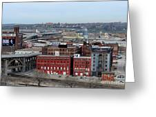 Old West Bottoms Kcmo Greeting Card