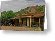 Old West Homestead Greeting Card