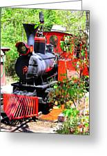 Old West Locomotive 2 Greeting Card