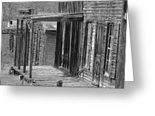 Old West            Pencil Greeting Card