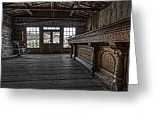 Old West Saloon Bar -- Bannack Ghost Town Montana Greeting Card