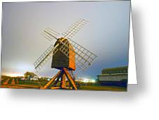 Old Wind Mill Greeting Card
