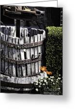 Old Wine Press  Greeting Card
