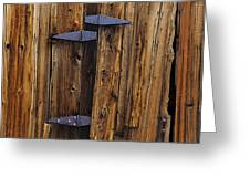 Old Wood Barn Greeting Card