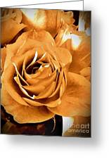 Old World Roses  Greeting Card