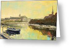 Old Wroclaw - Poland Greeting Card