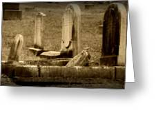 Olde Graves Greeting Card