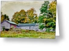 Olde Homestead On Rt 105 Greeting Card
