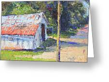 Olde Shed Greeting Card