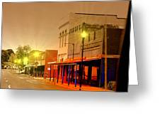 Olden Days Of Beebe Arkansas Greeting Card
