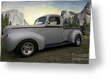 Older Classic Truck Greeting Card