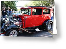 Oldie But Goodie - Classic Antique Car Greeting Card