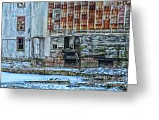 Oldmill Greeting Card by Tamera James