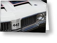 Olds Cutlass 4-4-2 Greeting Card