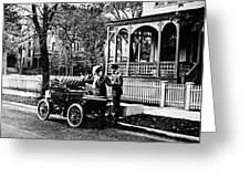 Oldsmobile, 1907 Greeting Card