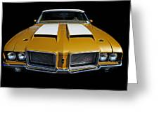 Oldsmobile 442 Greeting Card