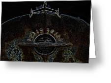 Oldsmobile Glow Greeting Card