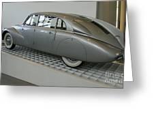 Oldtimer Tatra T87 Greeting Card