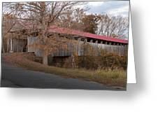 Oldtown Covered Bridge Greeting Card