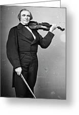 Ole Bornemann Bull (1810-1880) Greeting Card
