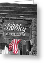 Ole Smoky Distillery Greeting Card by Dan Sproul