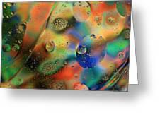 Olej I Woda 1 Greeting Card