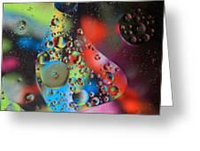 Olej I Woda 4 Greeting Card