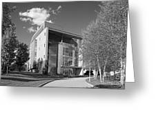 Olin College Academic Center Greeting Card by University Icons