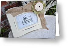 Olive In The Moment Greeting Card by Amanda  Sanford