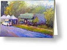 Olive Market Festival Greeting Card