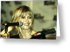 Olivia Newton John Greeting Card