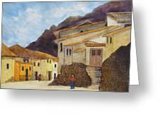 Ollantaytambo Greeting Card