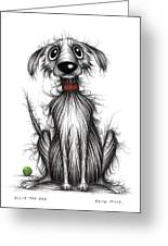 Ollie The Dog Greeting Card