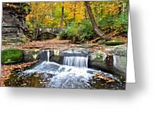 Olmstead Falls Ohio Greeting Card