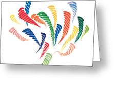 Olympic Fire Greeting Card