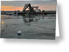 Olympic Harbor Kingston Greeting Card