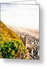 Olympic Peninsula Driftwood Greeting Card