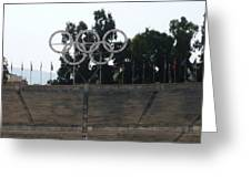 Olympic Rings Greeting Card