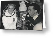 Olympic Winter Games 1964 In Innsbruckaustria 3 Gold-medal Greeting Card