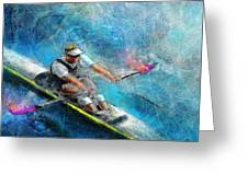 Olympics Rowing 01 Greeting Card