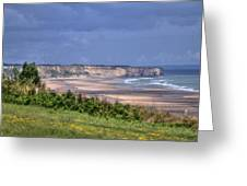 Omaha Beach At Peace Greeting Card