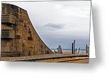 Omaha Beach Memorial Greeting Card